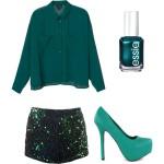 Modekleur van het jaar, smaragd groen!